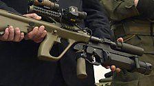 Bundesheer präsentiert neues Sturmgewehr 77