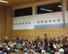 Jungmusik Muntlix-Sulz spielt beim Dorfkonzert
