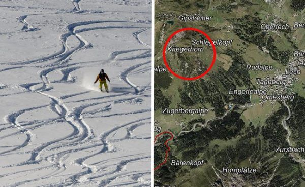 Skifahrerin flüchtete in Lech nach Kollision mit Elfjährigem