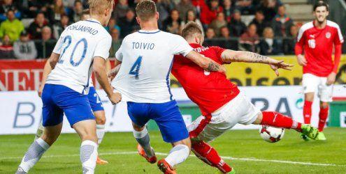 ÖFB-Elf und Finnland trennen sich 1:1 - Arnautovic trifft zur Führung