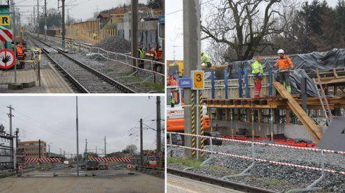 Bahnhof Lustenau: So sieht der aktuelle Baufortschritt aus!