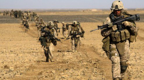 Trump befiehlt den US-Marines Luftlandeoperation in IS-Gebiet!