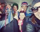 Vorarlberger Snowboard-Cross-Nachwuchs bei ÖM höchst erfolgreich