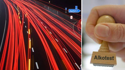 Rasante Fahrt in Dornbirn: Pkw- Lenkerin hielt kein Hindernis auf