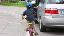 Verkehrsunfall: 8-jähriges Kind leicht verletzt