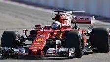 Vettel am Freitag Schnellster in Sotschi