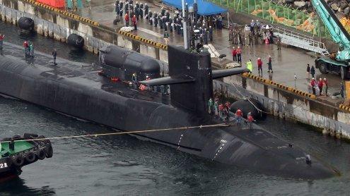 Trump schickt Atom-U-Boot, China warnt vor Eskalation