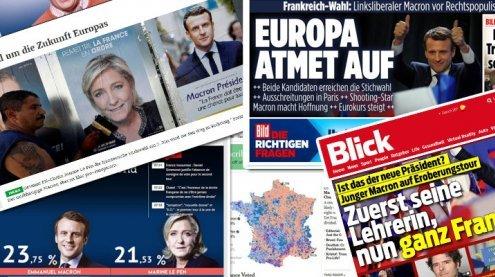 Duell Macron gegen Le Pen: Das sagt die internationale Presse