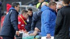 Verletzungs-Schock um Altachs Benedikt Zech