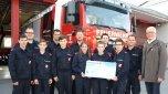 Feuerwehrjugend sozial engagiert