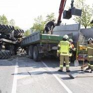 Traktor umgekippt - Fahrer (46) verletzt