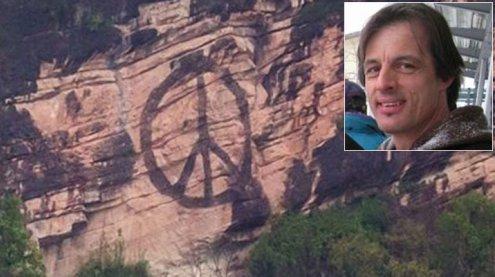 Peace-Zeichen auf Känzele-Fels: Naturschützer sind entsetzt!