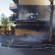 Vorarlberg: Brand in Bludenzer Wohnanlage