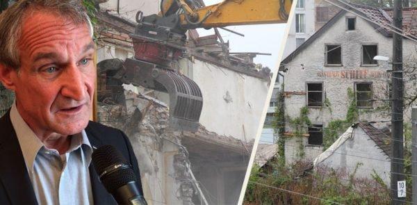 """Gasthaus """"Schiff"""" in Bregenz ist nun endgültig Geschichte"""
