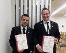 Herzliche Gratulation zum Diplom des Vereinsfunktionärs