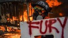 Bereits 60 Tote und 1000 Verletzte in Venezuela
