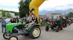 Traumhaftes Treffen: Traktoren in Feldkirch