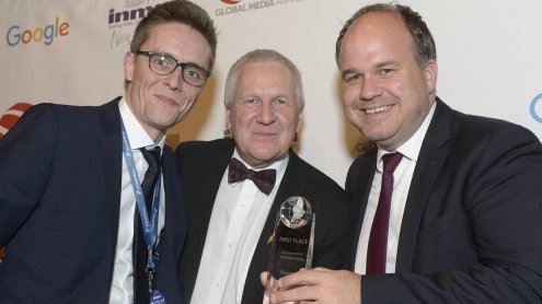 INMA Awards für Russmedia in New York: Gold für VOL.AT!