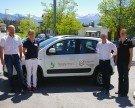 Neues Dienstauto für Pflegepersonal