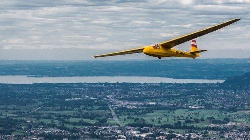 Schreckmoment: Segelflieger verliert Haube auf 3.400 Metern