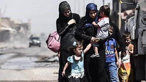 Irak: Hunderte Menschen aus IS-Gebieten in Mosul befreit