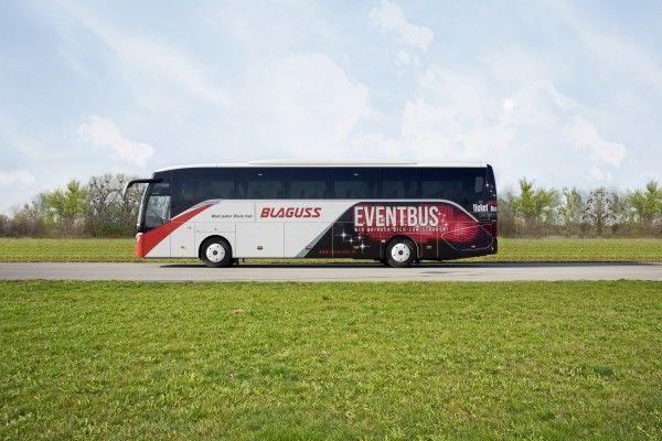 Bequeme Anreise: Mit dem Eventbus zu den Rolling Stones nach Spielberg