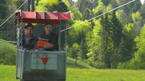 Alberschwende: Mit der eigenenSeilbahn talwärts in die Schule