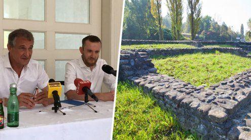 """Das """"römische Bregenz"""" gibt es jetzt als digitalen Stadtplan"""