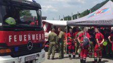 160 Feuerwehrleute bei Übung in Schnifis