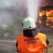 Großbrand auf Bauernhof in Götzis - Sammelaktion für Familie