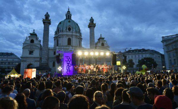 Wiener Popfest 2017: Buntes Musikprogramm am Karlsplatz