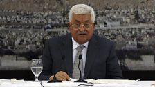 Palästinenser frieren Beziehungen ein