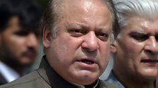 Ministerpräsident Sharif des Amtes enthoben