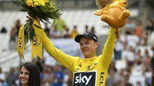 Froome fixiert vierten Tour-de-France-Sieg