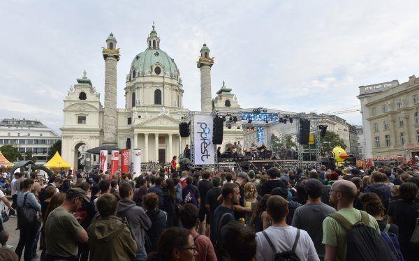 So lief der Start zum Wiener Popfest