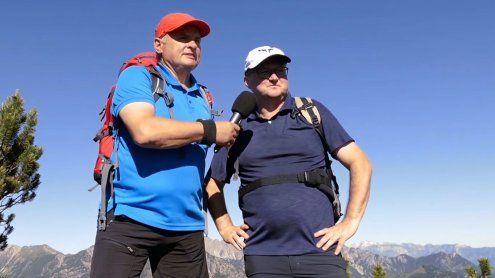 Mit Franz Lutz und Gästen auf den schönsten Bergen Vorarlbergs