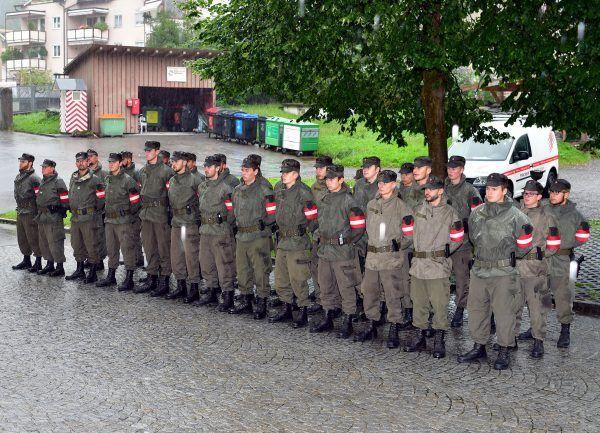 Vorarlberger Soldaten vom Grenzeinsatz zurück