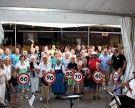 """Leiblachtaler Jubiläums-Jahrgänger trafen sich beim """"Lochauer Dorffest"""""""