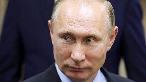 """Putin poltert: US-Sanktionen gegen Russland sind """"Frechheit"""""""