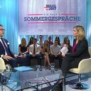Sommergespräch: FPÖ-Chef Strache zu Gast bei Corinna Milborn