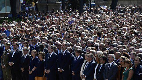 Trauerfeier nach Barcelona-Terror