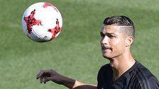 Trotz Berufung: Ronaldo fünf Spiele gesperrt