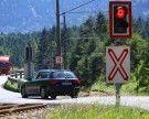 Dramatische Minuten in Lorüns: Auto blieb auf Bahnübergang stehen