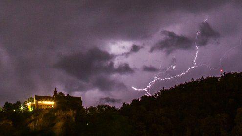 Achtung am Freitag Abend - Gewitterwarnung für Vorarlberg