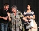 Video! Drei Kabarettisten wussten zur Premiere zu glänzen