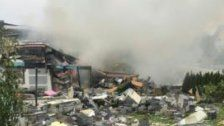 Hollabrunn: Explosion nach Leck in Gas-Leitung
