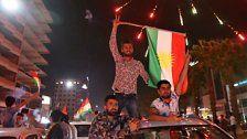 Kurden-Referendum: Große Mehrheit für Abspaltung erwartet