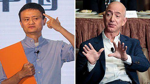 Jack Ma gegen Jeff Bezos:15 Milliarden-Attacke auf Amazon