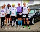 Laufgruppe Milka beim Einstein Ulm Marathon