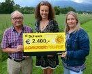 """Spendenübergabe an """"Koblach SOZIAL"""""""